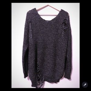 SOLD! NWT Charcoal pullover sweater